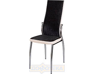 Купить стул Домотека Милано А-4/В-1 ченый венге с эффектом замши/бежевый, повышенной комфортности