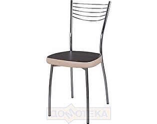 Купить стул Домотека Омега-1 В-4/В-1 черный венге/бежевый, повышенной комфортности