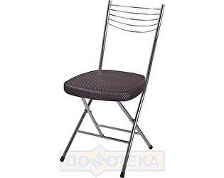 Купить стул Домотека Омега-1 скл. F4/F-4 венге с плетеной текстурой, повышенной комфортности