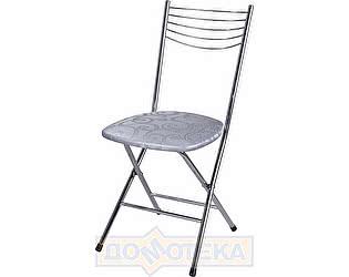 Купить стул Домотека Омега-1 скл. Д-1 серебристый с узором
