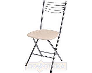 Купить стул Домотека Омега-1 скл. Д-2 бежевый с узором