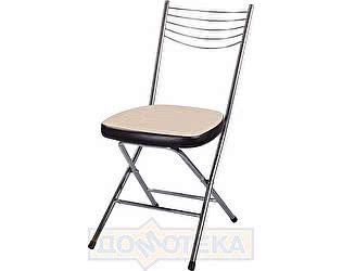 Купить стул Домотека Омега-1 скл. Д-2/В-4 светло бежевый/венге, повышенной комфортности
