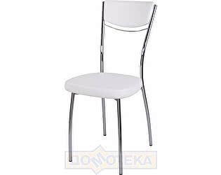 Купить стул Домотека Омега-4 F-0/F-0 спF-0/F-0 белый с плетеной текстурой, повышенной комфортности