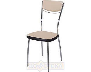 Купить стул Домотека Омега-4 В-1/В-4 спВ-1/В-4 бежевый/венге, повышенной комфортности