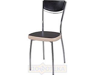 Купить стул Домотека Омега-4 В-4/В-1 спВ-4/В-1 черный венге/бежевый, повышенной комфортности