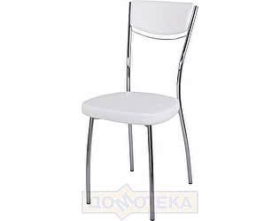 Купить стул Домотека Омега-4 Д-0/Д-0 спД-0/Д-0 белый с узором, повышенной комфортности