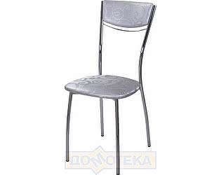 Купить стул Домотека Омега-4 Д-1 спД-1 серебристый с узором