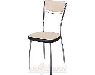 Купить стул Домотека Омега-4 Д-2/В-4 спД-2/В-4 светло бежевый/венге, повышенной комфортности