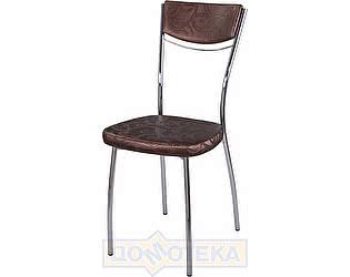 Купить стул Домотека Омега-4 Д-4/Д-4 спД-4/Д-4 коричневый (темная бронза) с узором, повышенной комфортности