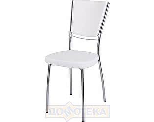 Купить стул Домотека Омега-5 D-0/D-0 спD-0/D-0 белый с узором, повышенной комфортности