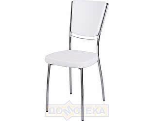 Купить стул Домотека Омега-5 F-0/F-0 спF-0/F-0 белый с плетеной текстурой, повышенной комфортности