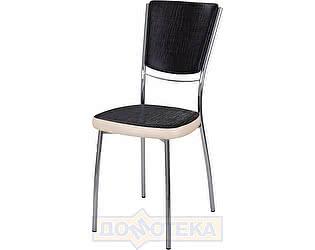 Купить стул Домотека Омега-5 А-4/В-1 спА-4/В-1 ченый венге с эффектом замши/бежевый, повышенной комфортност