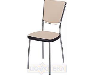 Купить стул Домотека Омега-5 В-1/В-4 спВ-1/В-4 бежевый/венге, повышенной комфортности