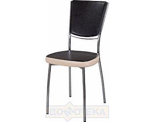 Купить стул Домотека Омега-5 В-4/В-1 спВ-4/В-1 черный венге/бежевый, повышенной комфортности