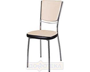 Купить стул Домотека Омега-5 Д-2/В-4 спД-2/В-4 светло бежевый/венге, повышенной комфортности