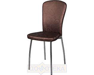 Купить стул Домотека Палермо D4/D4 коричневый (темная бронза) с узором, повышенной комфортности