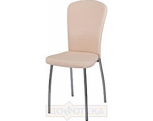 Купить стул Домотека Палермо А-1/А-1 светло-бежеый с эффектом замши, повышенной комфортности