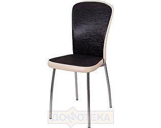 Купить стул Домотека Палермо А-4/В-1 ченый венге с эффектом замши/бежевый, повышенной комфортности