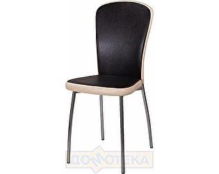 Купить стул Домотека Палермо В-4/В-1 черный венге/бежевый, повышенной комфортности