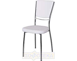 Купить стул Домотека Омега-5 А0/А0, белый с эффектом замши/повышенной комфортности