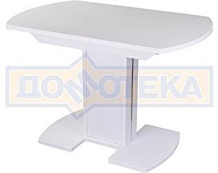 Купить стол Домотека Румба ПО КМ 04 БЛ 05 БЛ/БЛ КМ 04 ,белый