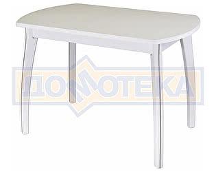 Купить стол Домотека Румба ПО-1 КМ 04 БЛ 07 ВП БЛ ,белый