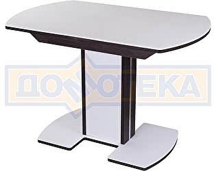 Купить стол Домотека Румба ПО-1 КМ 04 ВН 05-1 ВН/БЛ КМ 04 ,венге