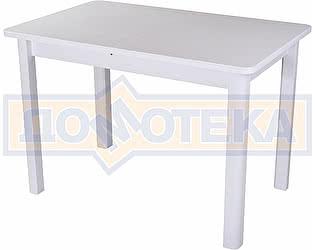 Купить стол Домотека Румба ПР-1 КМ 04 БЛ 04 БЛ ,белый