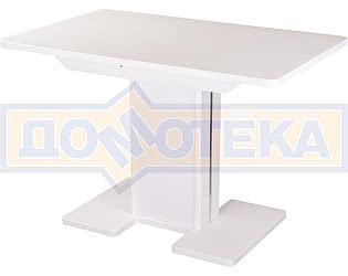 Купить стол Домотека Румба ПР-1 КМ 04 БЛ 05-1 БЛ/БЛ КМ 04 ,белый