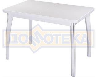 Купить стол Домотека Румба ПР-1 КМ 04 БЛ 07 ВП БЛ ,белый
