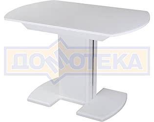 Купить стол Домотека Танго ПО-1 БЛ ст-БЛ 05-1 БЛ/БЛ ,белый