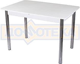 Купить стол Домотека Танго ПР-1 БЛ ст-БЛ 02 ,белый
