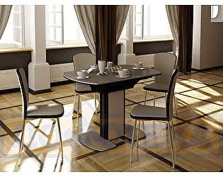 Купить обеденную группу Домотека Стол Румба ПО 05 + стулья Палермо В-1/В4 (4шт.)