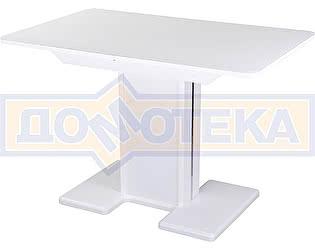 Купить стол Домотека Танго ПР-1 БЛ ст-БЛ 05-1 БЛ/БЛ ,белый