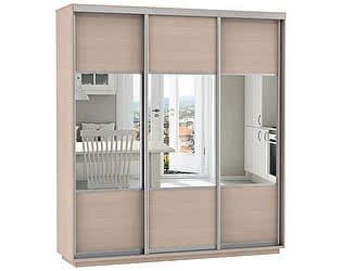 Купить шкаф Е 1 купе 3-х дверный Комби 1800