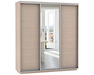 Купить шкаф Е 1 купе 3-х дверный Медиум 1800