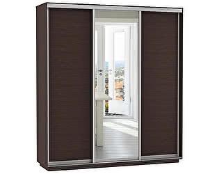Купить шкаф Е 1 купе 3-х дверный Медиум 2100