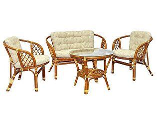 Купить комплект садовой мебели ЭкоДизайн Комплект кофейный Багама 03/10 К