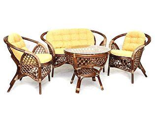 Купить комплект садовой мебели ЭкоДизайн Комплект кофейный Melang 1305 Б