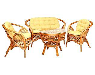 Купить комплект садовой мебели ЭкоДизайн Комплект кофейный Melang 1305 К