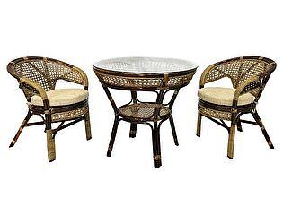 Купить комплект садовой мебели ЭкоДизайн Комплект Java-1 Б обеденный