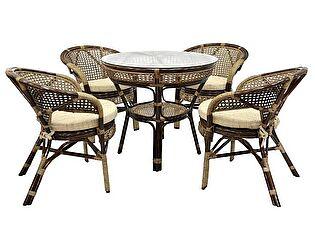 Купить комплект садовой мебели ЭкоДизайн Комплект Java-2 Б обеденный