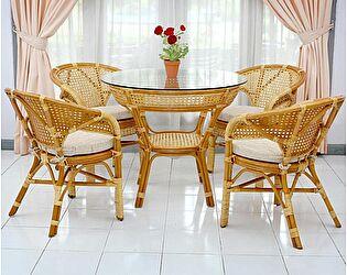 Купить комплект садовой мебели ЭкоДизайн Комплект Java-2 К обеденный