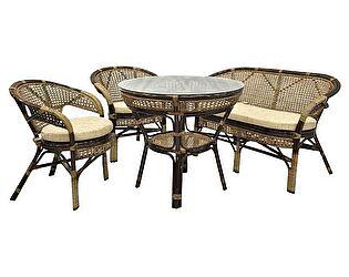 Купить комплект садовой мебели ЭкоДизайн Комплект Java-3 Б обеденный