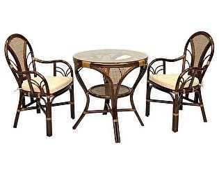 Купить комплект садовой мебели ЭкоДизайн Комплект LaMokko L Б обеденный