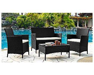 Купить комплект садовой мебели ЭкоДизайн Комплект 210013A кофейный