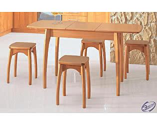 Купить стол Элегия обеденный раздвижной (нога бочонок Н)