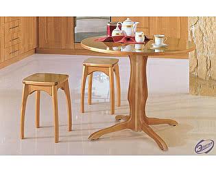 Купить стол Элегия обеденный круглый пластик