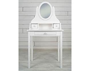 Купить стол Этaжepкa Adelina туалетный с зеркалом, DM1038ETG