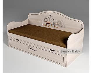 Купить кровать Фанки Кидз Париж с фотопечатью 40010
